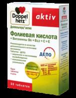 доппельгерц актив фолиевая кислота витамины